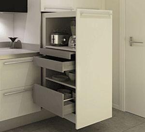 kitchen sliding cabinet