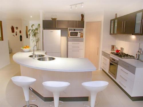 kitchen bar white