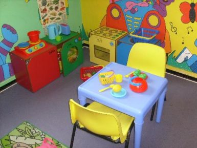playroom, toys room