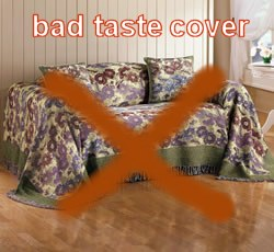 bad taste sofa cover