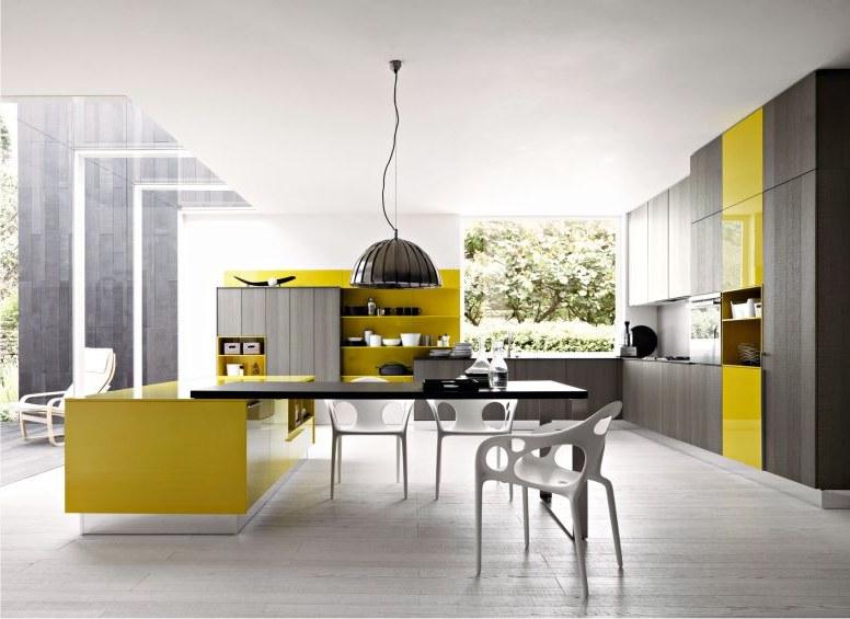 Modern Yellow And Grey Kitchen Ideas Free Interior Decorating Ideas
